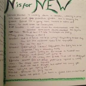 Alphabet Challenge: N is ForNew