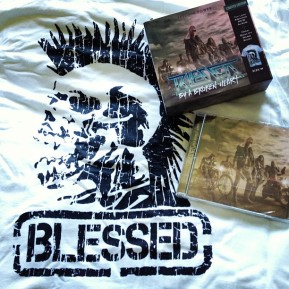 "Blessed By A Broken Heart ""Feel The Power"" CD And T Shirt"