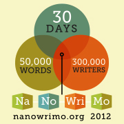 National Novel Writing Month Badge