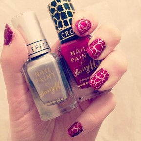 Barry M Croc And Foil Nail Effects Review