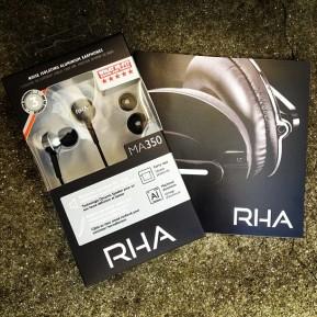 RHA Noise Isolating Aluminium Earphones:Review