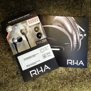 rha aluminium earphones