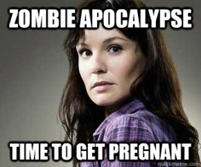 4 Reasons Why The Walking Dead Doesn't Know A Thing About Giving Birth
